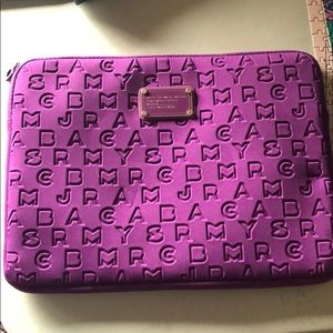 Marc By Marc Jacobs Purple Laptop Sleeve 13inches